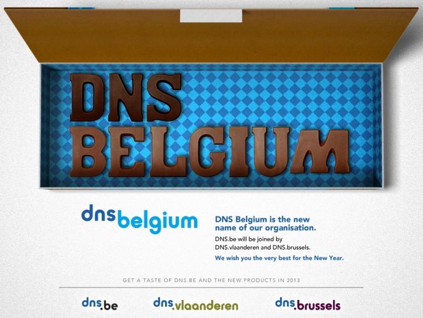 dns.be rebrands as dns belgium