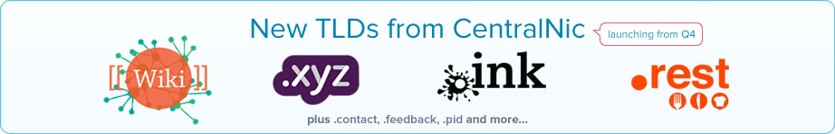 centralnic-new-tlds