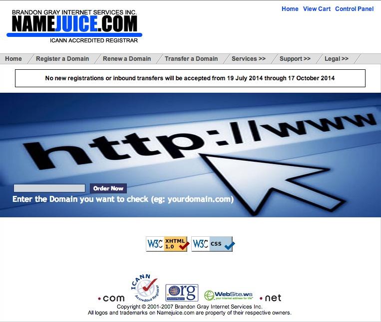 brandon-gray-namejuice-suspension-notice-homepage