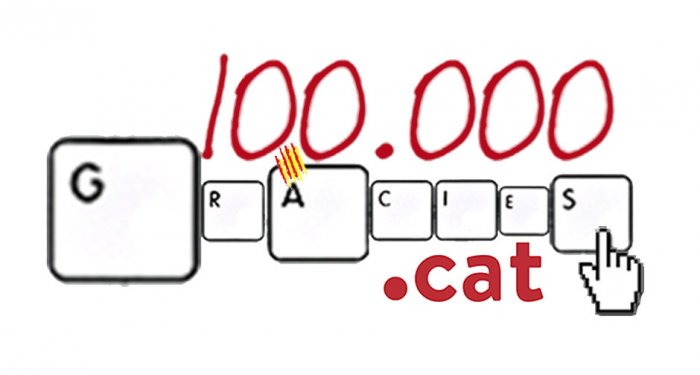 .cat registry breaks 100 thousand domains registered