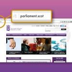Scottish Parliament Switching Over To .Scot