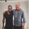 Joss Whedon with Mark Ruffalo