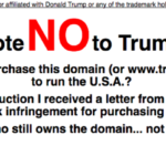 Trump Doesn't Have All The Domains You'd Expect Him To Have