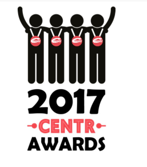 CENTR 2017 Awards logo