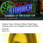 DailyStormer Booted by GoDaddy and Claims to Have Been Hacked by Anonymous