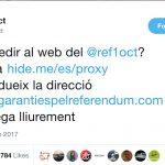 Catalan Referendum Sites Blocked by Court Order