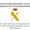 Domain seized by Spanish government