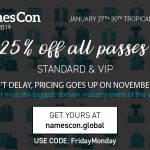 Namescon black friday discount