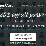 NamesCon Black Friday Discount