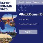Baltic Domain Days 2019
